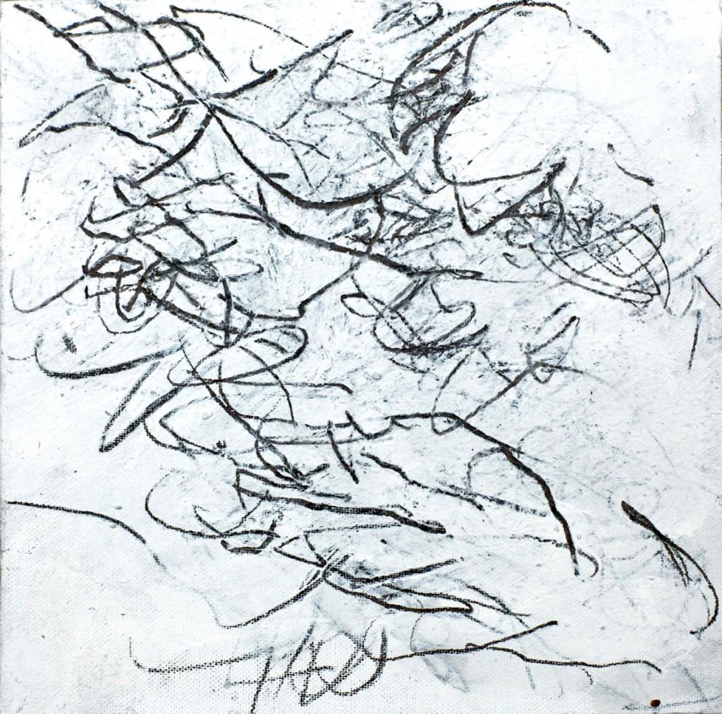 Technique mixte sur toile, 20 x 20 cm, 2012