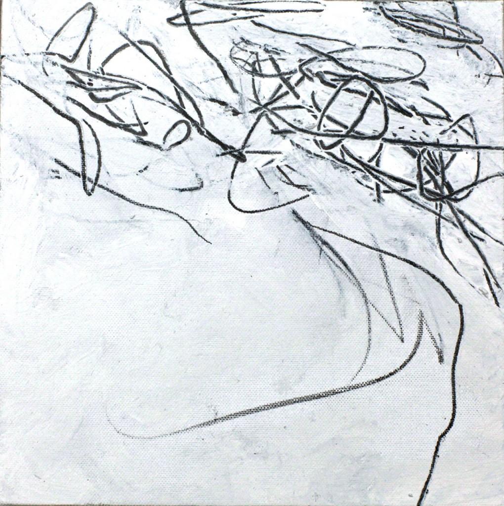 mixed technique sur toile, 20 x 20 cm, 2012