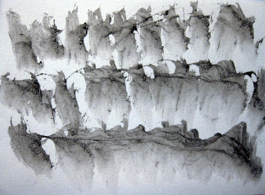 lavis sur papier, 12 x 16,5 cm, 2012