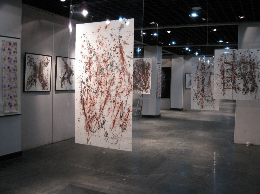 EXPO-2 Exhibitions Michel Sicard Mojgan Moslehi at the National Museum of Art, Nanjing, 2008