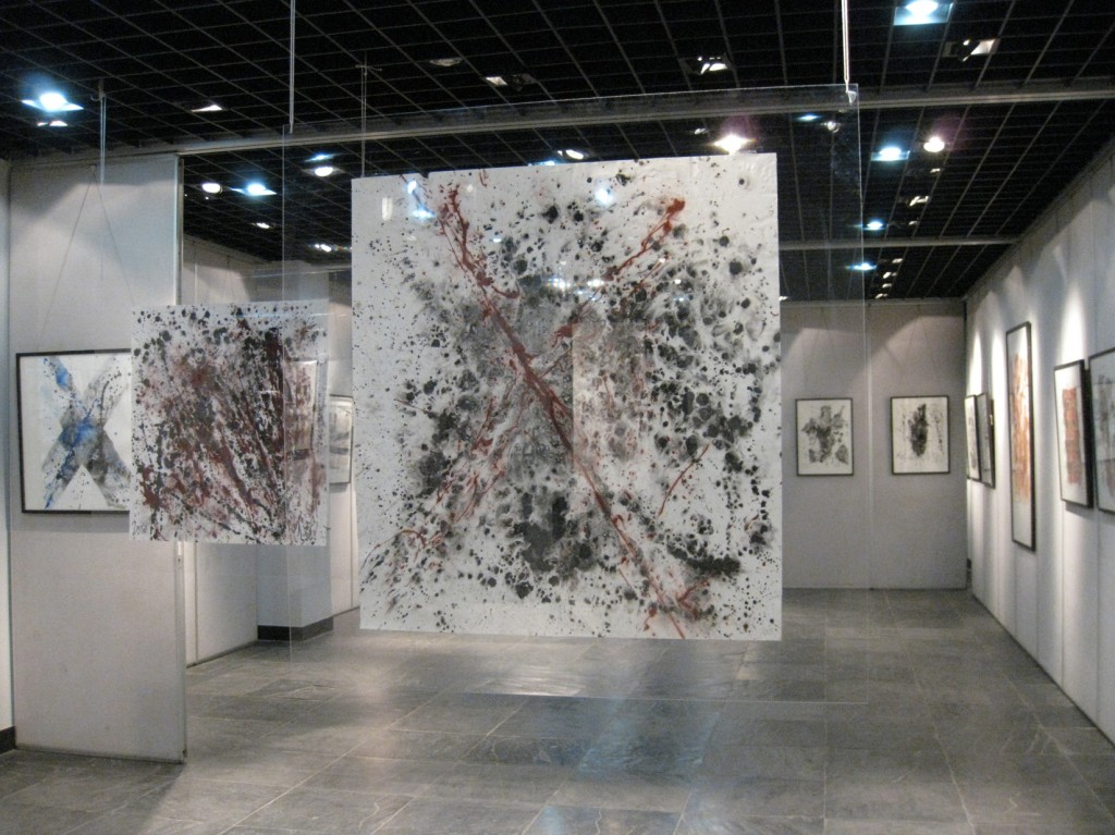 EXPO-4Exhibitions Michel Sicard Mojgan Moslehi at the National Museum of Art, Nanjing, 2008