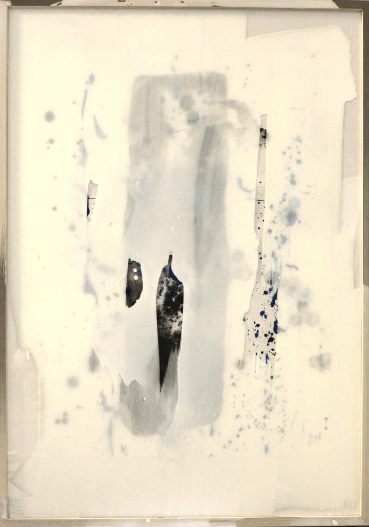 contemporary art paintings by mojgan moslehi and michel sicard, Sans titre, technique mixte, 100 x 70 cm, 2013
