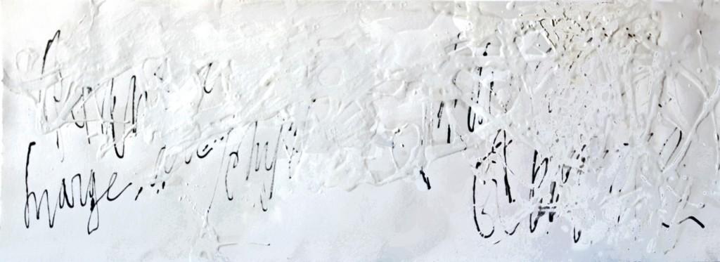 À l'appel des nuages, technique mixte, 2006